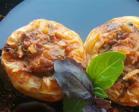 stuffed peppers with minced meat